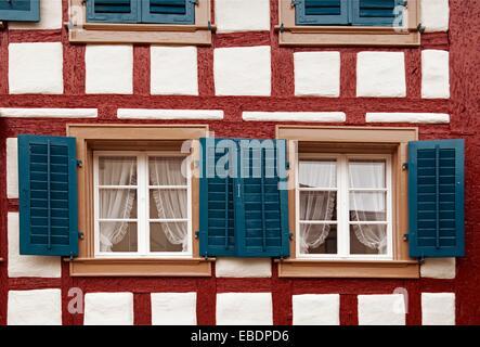 traditional architecture Zoug canton Zoug Zug canton Zug Switzerland Europe - Stock Photo