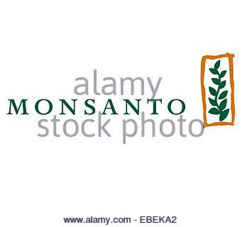 Monsanto logo icon sign - Stock Photo