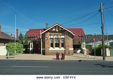 The Post Office in Wallerawang, on Main Street in the township. NSW, Australia. - Stock Photo