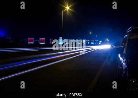 Highway road nobody - Stock Photo