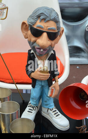 Serge Gainsbourg at the famous Lille Braderie, Lille - Rijssel,  France - Stock Photo