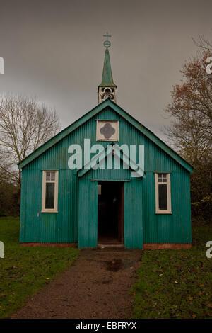 The Victorian Mission Church, Avoncroft, Bromsgrove, Worcs UK - Stock Photo