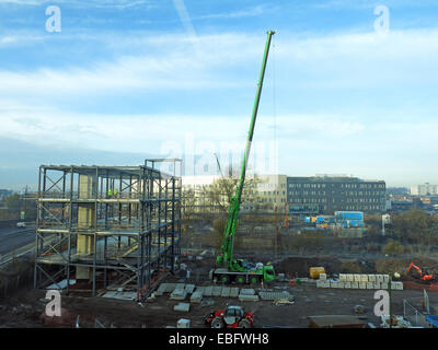 New head office being built in Walsall Gigaport, West Midlands for Jhoots pharmacy, England UK - Stock Photo