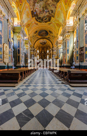 Interior of Aulica Chapel, Episcopal Palace, Bressanone, Trentino-Alto Adige, Italy - Stock Photo