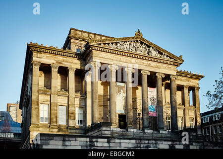 Harris Museum and art gallery in Preston - Stock Photo