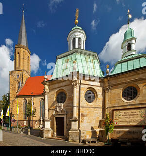 pilgrimage chapel in front of church St-Clemens in Telgte, Germany, North Rhine-Westphalia, Muensterland, Telgte - Stock Photo