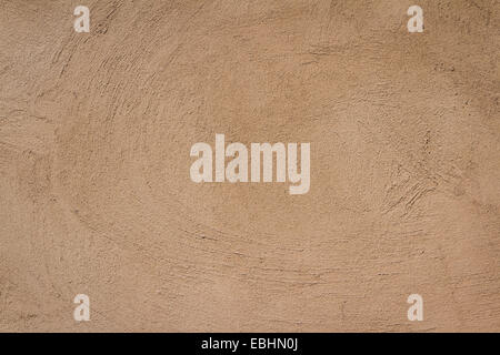 south western style stucco wall close up for a background - Stock Photo