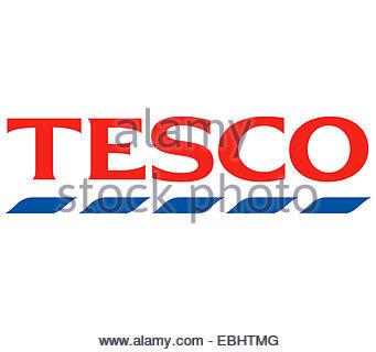 Tesco logo icon sign - Stock Photo