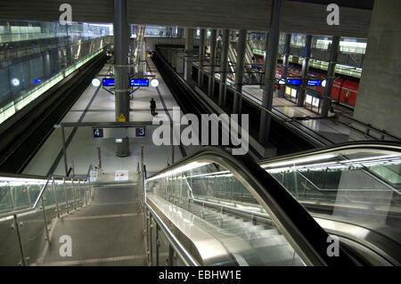 Potsdamer Platz Station, Berlin, Germany - Stock Photo