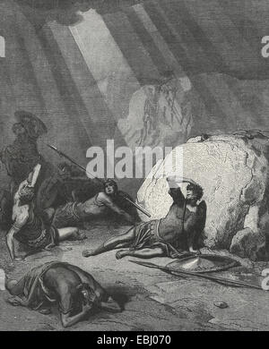 The conversion of St Paul on the road to Damascus - Stock Photo