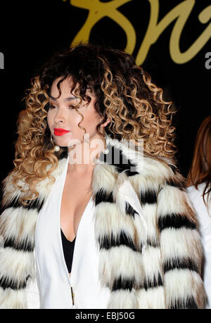 London, UK. 1st December, 2014. Ella Eyre attend the British Fashion Awards 2014 at The London Coliseum London 1st - Stock Photo