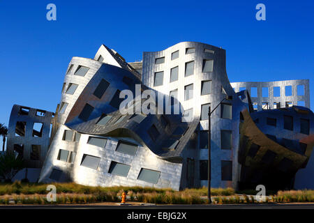 Cleveland Clinic Lou Ruvo Center in modern architectural style, USA, Nevada, Las Vegas - Stock Photo