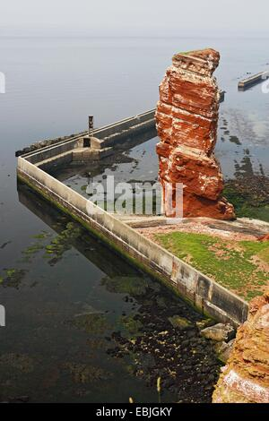 Lange Anna on Heligoland, Germany, Schleswig-Holstein, Heligoland - Stock Photo