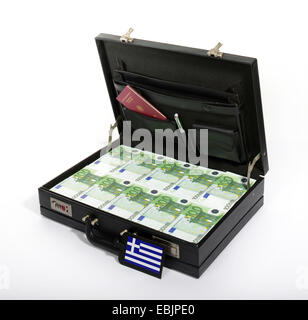 case with Euros, injection of capital for Greece