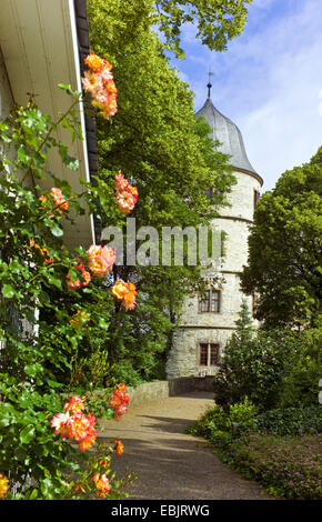 Wewelsburg castle, Germany, North Rhine-Westphalia, Bueren - Stock Photo