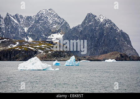 Laurie Island, part of the South Orkneys, in the South Polar Ocean, Antarctica, South Orkney Islands, Laurie Island - Stock Photo