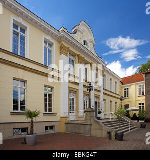 Westerholt castle, Germany, North Rhine-Westphalia, Ruhr Area, Herten - Stock Photo