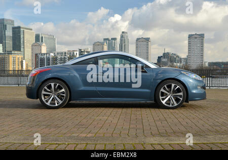 2013 Peugeot RCZ coupe sports car - Stock Photo