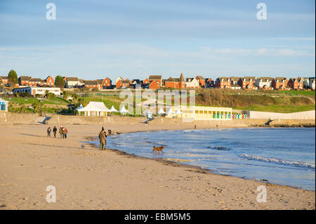 The beach at Barry Island, Wales, UK. - Stock Photo