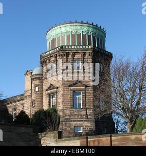 Royal Observatory Edinburgh Scotland  November 2014 - Stock Photo