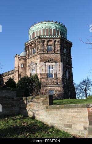 Exterior of Royal Observatory Edinburgh Scotland  November 2014 - Stock Photo