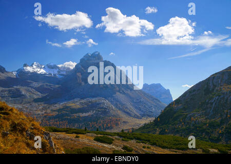 Valle Di Fanes, Italy, South Tyrol, Dolomites - Stock Photo