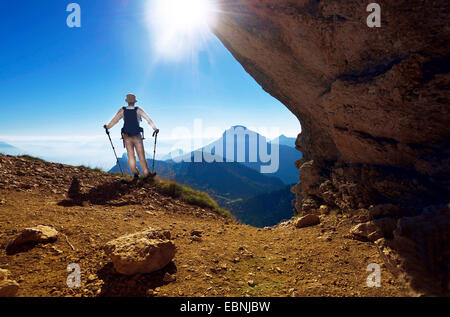 Landscape in natural park of Chartreuse, Alps mountains, France, Grenoble - Stock Photo