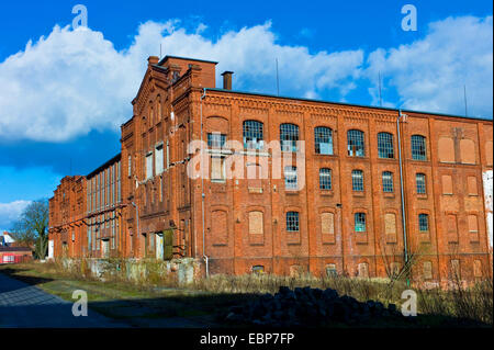 old factory building on Bremer Woll-Kaemmerei area, Germany, Bremen - Stock Photo