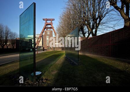 Zollverein Coal Mine Industrial Complex, Germany, North Rhine-Westphalia, Ruhr Area, Essen - Stock Photo