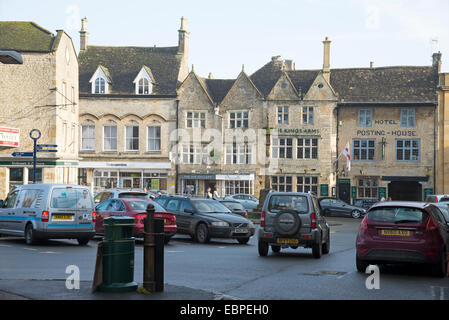 Stow on the Wold town centre The Cotswolds area Gloucestershire England UK - Stock Photo