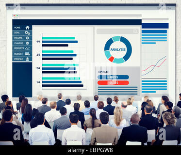 Business People Corporate Meeting Conference Finance Accounting Concept - Stock Photo
