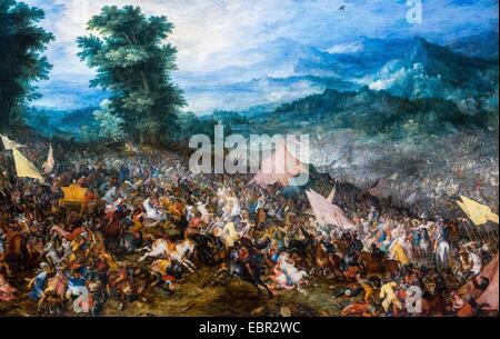 ActiveMuseum 0003155.jpg / The Battle of Issus, 1602 - Jan Brueghel l'Ancien, called Brueghel de Velours 18/09/2013 - Stock Photo