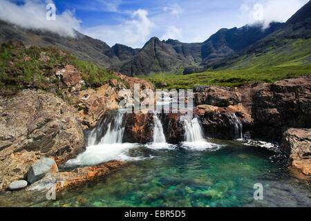 Fairy Pools on Isle of Skye, United Kingdom, Scotland, Isle Of Skye - Stock Photo