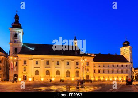 Sibiu ( Hermannstadt ) Romania - Stock Photo