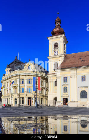 Sibiu ( Hermannstadt ) Romania - Stock Photo