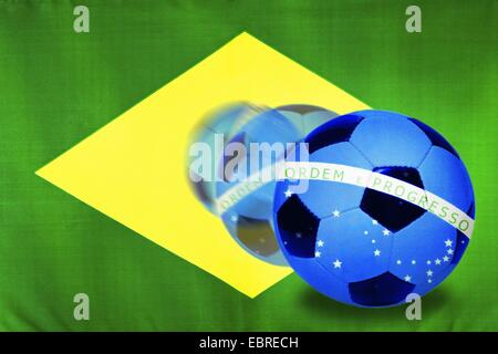 Soccer World Championships in Brazil 2014, Brazil - Stock Photo