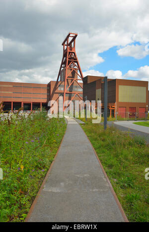 Zeche Zollverein, Germany, North Rhine-Westphalia, Ruhr Area, Essen - Stock Photo