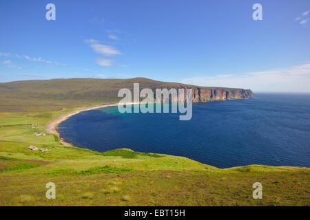 view to Rackwick Bay, United Kingdom, Scotland, Orkney, Hoy - Stock Photo