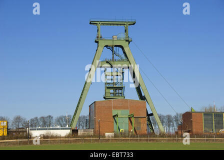 pit Konrad, Schacht Konrad, former iron ore mine, repository for radioactive waste , Germany, Lower Saxony, Salzgitter - Stock Photo