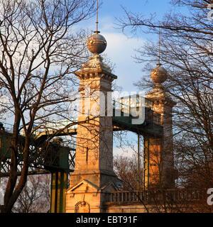 Henrichenburg boat lift, Germany, North Rhine-Westphalia, Ruhr Area, Waltrop - Stock Photo