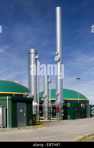 Biogas Plant Germany Europe Stock Photo Royalty Free