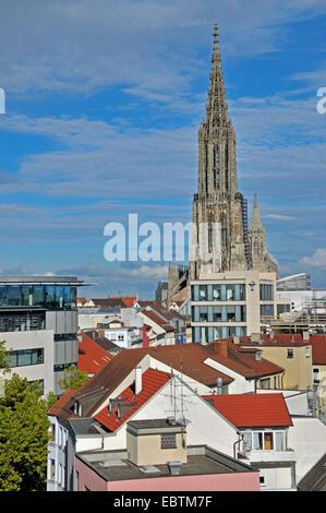 Ulm Minster, tallest church in the world, Germany, Baden-Wuerttemberg, Ulm