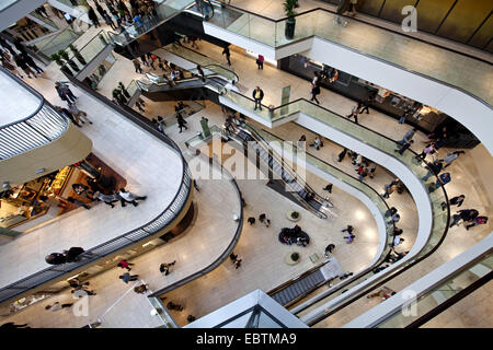 interior view of shopping centre thier galerie germany north stock photo 76145506 alamy. Black Bedroom Furniture Sets. Home Design Ideas