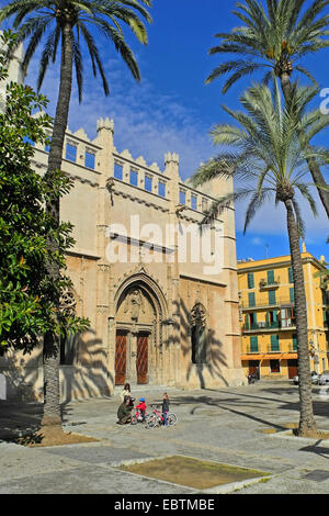 exhibition centre 'Sa Llotja' at the 'Passeig de Sagrera', Spain, Balearen, Majorca, Palma de Mallorca - Stock Photo