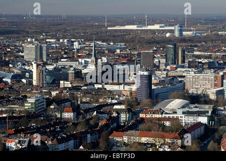 aerial view north west of inner city buildings devonshire green stock photo royalty free image. Black Bedroom Furniture Sets. Home Design Ideas