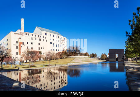 The Oklahoma City National Memorial and Museum, Oklahoma City, OK, USA - Stock Photo
