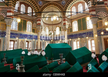 Mausoleum of Sultan Mehmet III-Tombs of Istanbul Turkey - Stock Photo