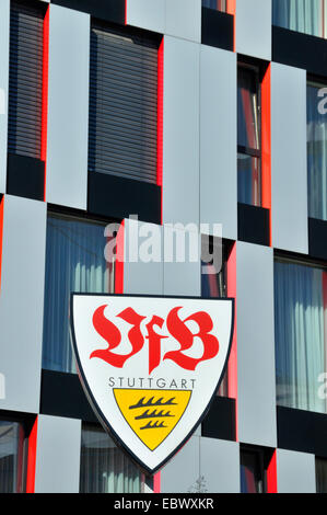 VfB Stuttgart fan shop, Carl Benz Center, Germany, Baden-Wuerttemberg, Stuttgart - Stock Photo