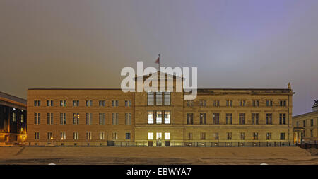 New Museum, Neues Museum, on Museum Island, Museumsinsel, Germany, Berlin - Stock Photo
