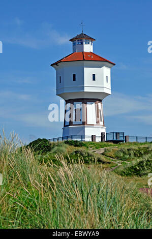 water tower on Langeoog island, Germany, Lower Saxony, Langeoog - Stock Photo
